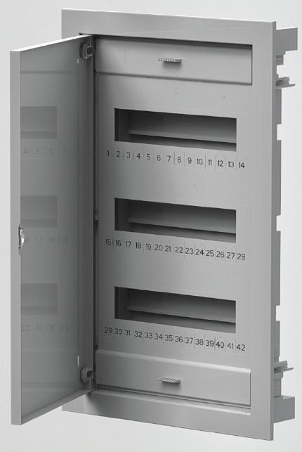 Rozvodnice C-BOX 1536 podomítková IP40 36+6 modulů