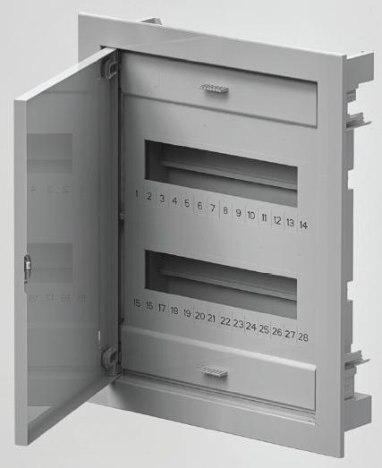 Rozvodnice C-BOX 1524 podomítková IP40 24+4 modulů