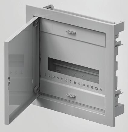 Rozvodnice C-BOX 1512 podomítková IP40 12+2 modulů