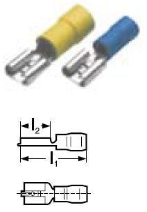 Konektor lisovací GPH Cu PVC 1,5-2,5 BF-F 608