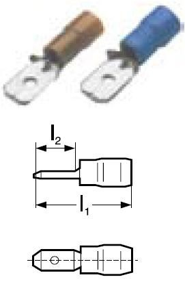 Konektor lisovací GPH Cu PVC 4-6 GF-M 608