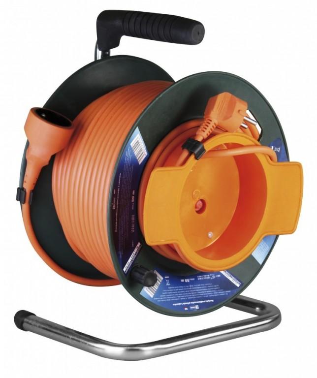 Prodlužovací kabel na bubnu - spojka 50m - P19150