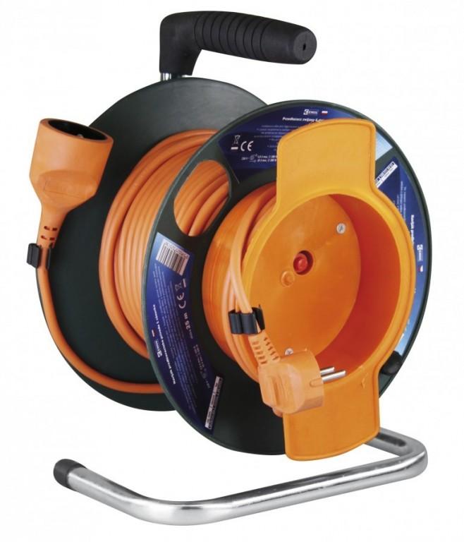 Prodlužovací kabel na bubnu - spojka 25m - P19125