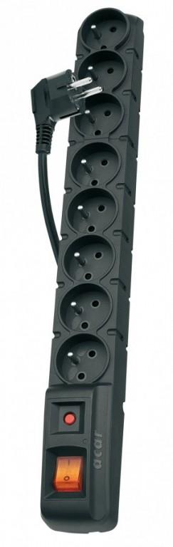 Přepěťová ochrana 8 zásuvek 1,5m - P53899