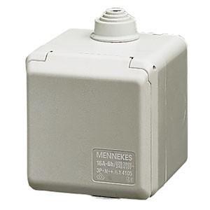 Zásuvka nástěnná 400V/32A 5P 6h MENNEKES - N°4110