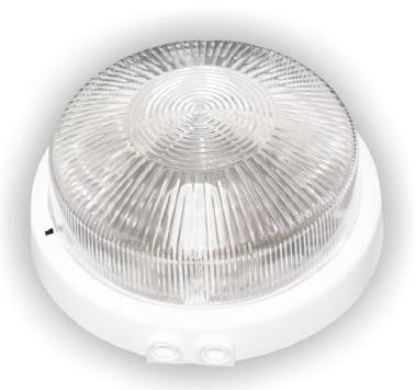 Svítidlo RIVA bílá čirá 100W IP44, 3vývody