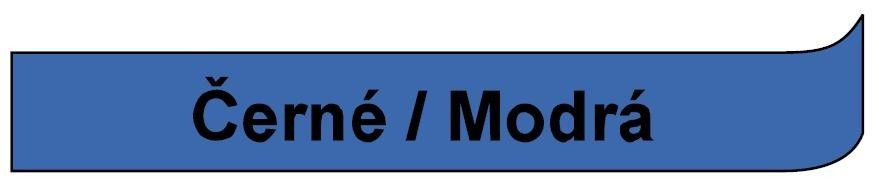 Páska DYMO 45016 - 12 mm x 7 m - černá / modrá