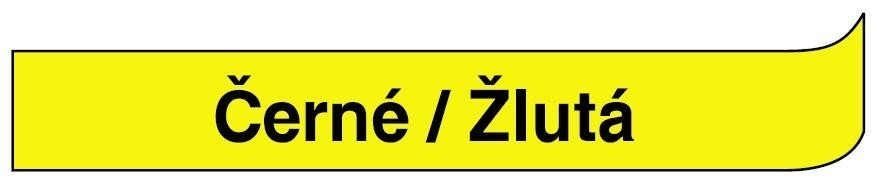 Páska DYMO 45018 - 12 mm x 7 m - černá / žlutá