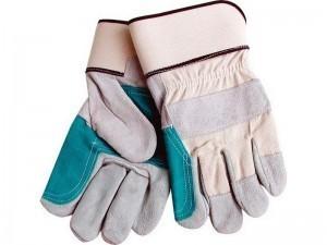 Rukavice kožené silné s podšívkou v dlani MARY - 9966