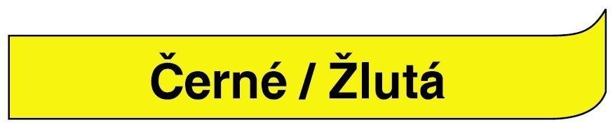 Páska DYMO 40918 - 9 mm x 7 m - černá / žlutá