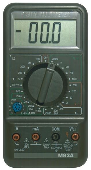 Multimetr M92A - M2092