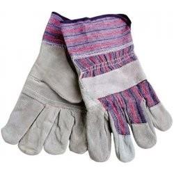 Rukavice kožené s vystuženou dlaní - 9965