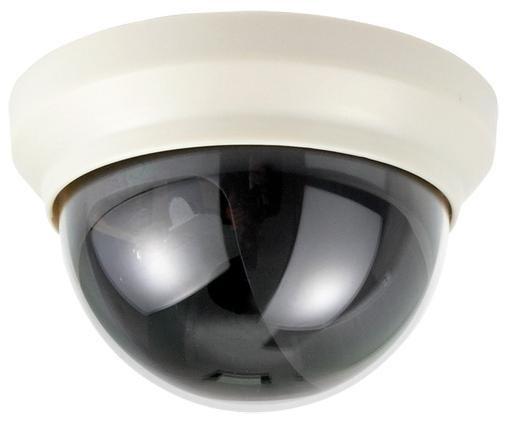 Atrapa kamery MINI DOME béžová, průměr 10 cm NVD-10W