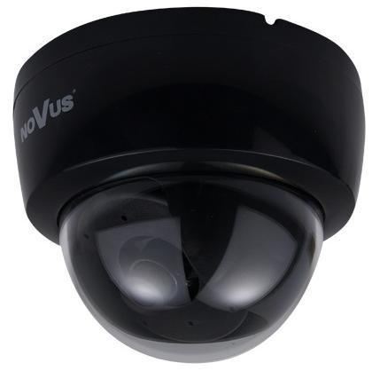 Atrapa kamery DOME černá, průměr 11,2 cm NVD-110B-II