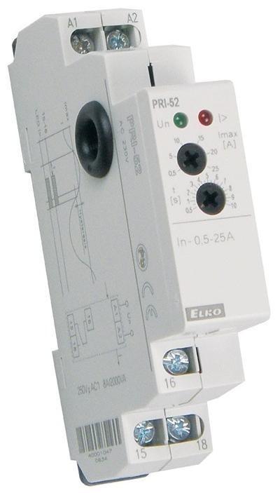 Hlídací proudové relé PRI-52