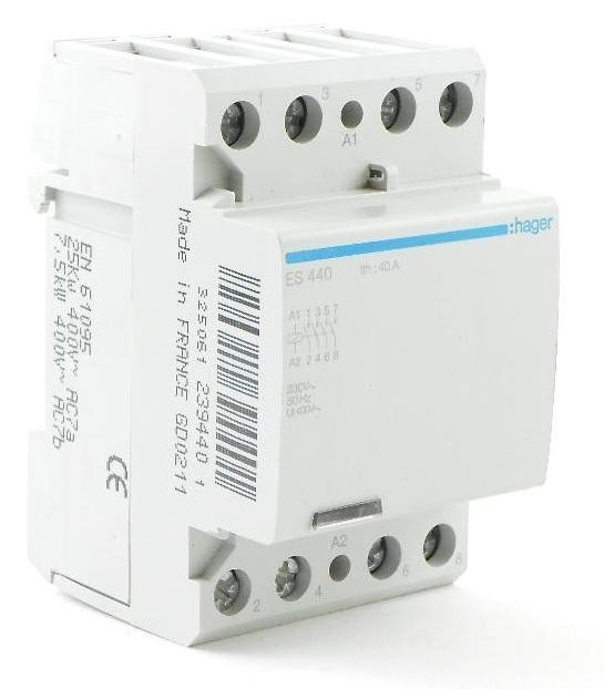 Instalační stykač 40A 4S 230V - ES440 - 239440