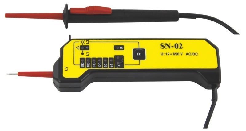 Zkoušečka SN-02 12-690V
