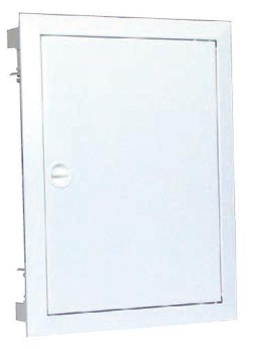 Rozvodnice pod omítku, ocelové dveře KLV-U-4/56-F - 275515