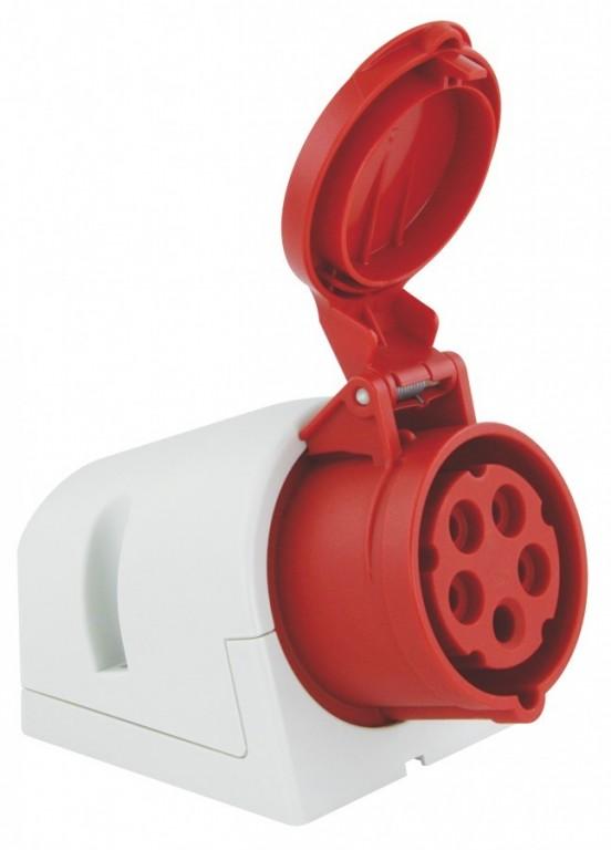 Zásuvka nástěnná PCE 16A 5p 6h - 115-6
