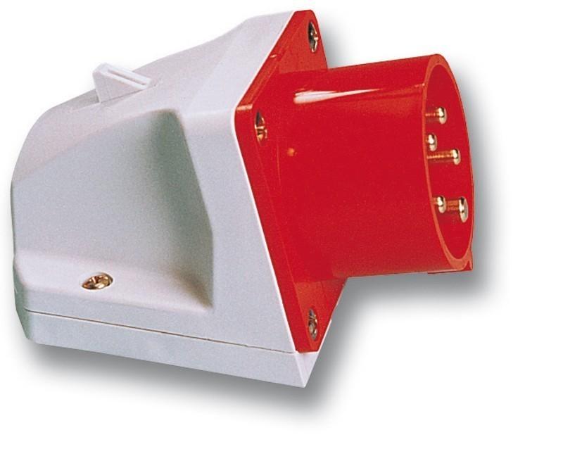 Přívodka průmyslová PCE 4x32A 524-6 380V IP44