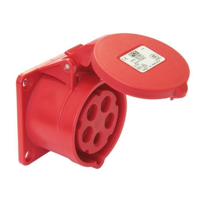 PCE zásuvka vestavná 325-6 5x32 A 380 V IP44