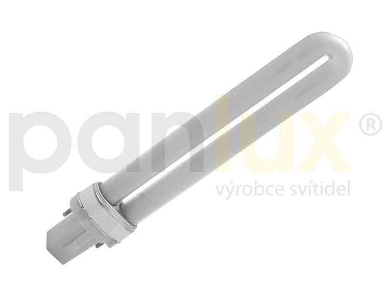 Kompaktní zářivka Panlux TS 7W 2pin teplá bílá - TS-7T