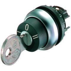 Hlavice s klíčkem M22-WRS3 - 216900 3-polohová s aretací