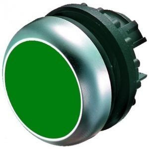 Tlačítko zapuštěné M22-D-G 216596 zelené bez aretace