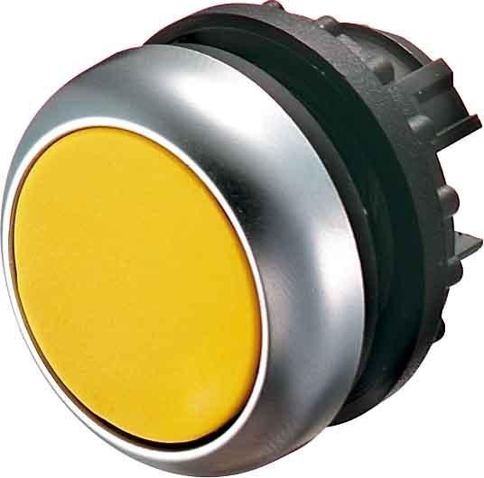 Tlačítko zapuštěné M22-D-Y 216598 žluté bez aretace