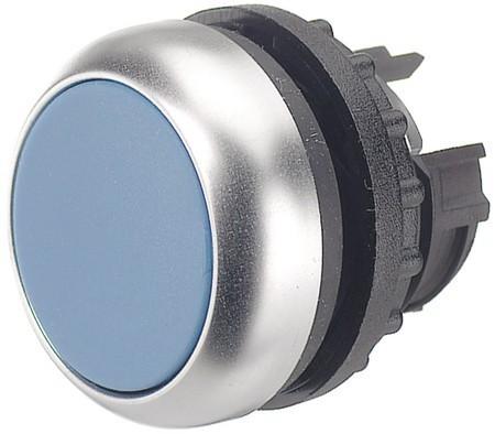 Tlačítko zapuštěné M22-D-B 216600 modré bez aretace