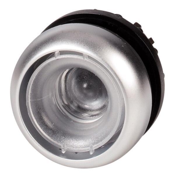 Tlačítko zapuštěné M22-D-X 216602 bez aretace - čiré