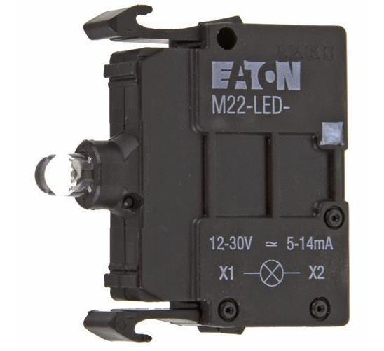 Prvek LED M22-LED-B 218057 modrá 12-30V AC/DC