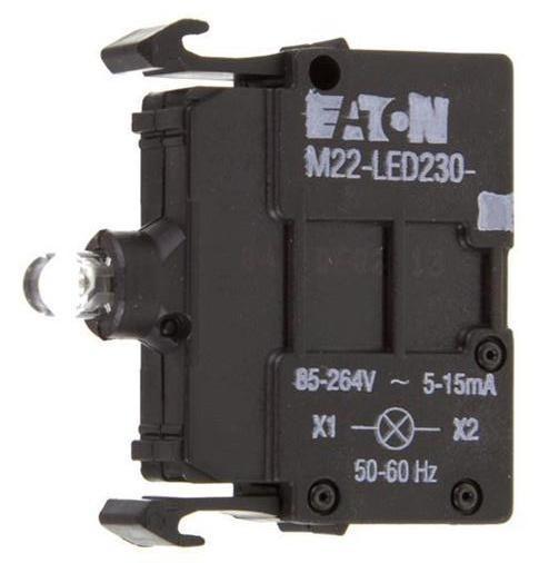 Prvek LED M22-LED230-R 216564 červená 85-264V AC