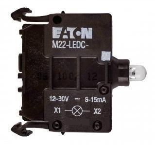 Prvek LED M22-LEDC-B 218058 modrá 12-30V AC/DC