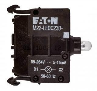 Prvek LED M22-LEDC230-R 216567 červená 85-264V AC