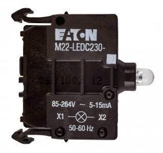 Prvek LED M22-LEDC230-G 216568 zelená 85-264V AC