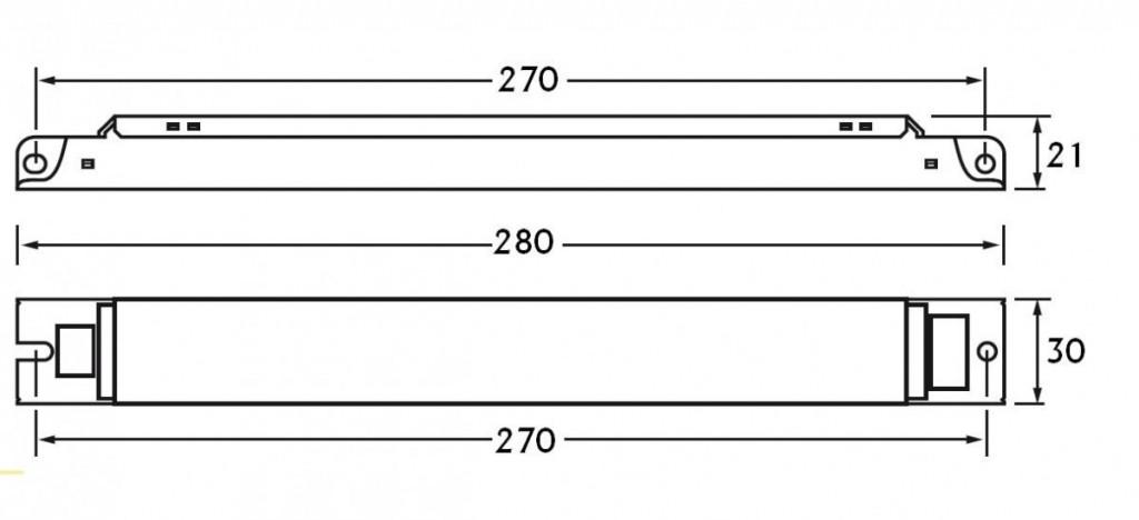 Elektronický předřadník EL 3/4x18ngn HELVAR 3/4x18W