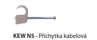 Příchytka kabelová KEW NS 7-12/23 - 32787