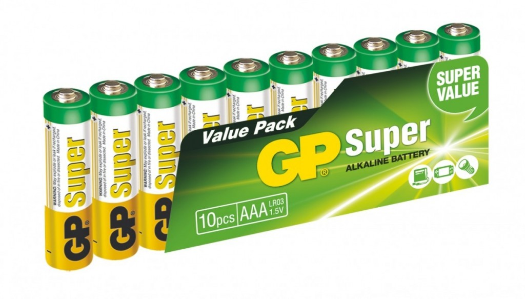 Alkalická baterie GP Super LR03 (AAA)