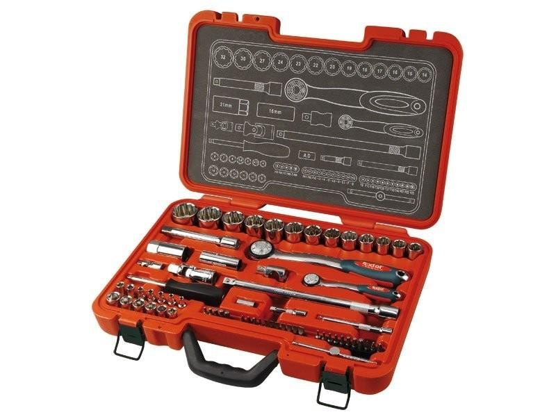Klíče nástrčné EXTOL Premium sada 67ks 1/4´´, 1/2' - 8818315