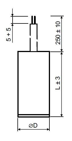Rozběhový kondenzátor 12 µF kabel - MPB0120060
