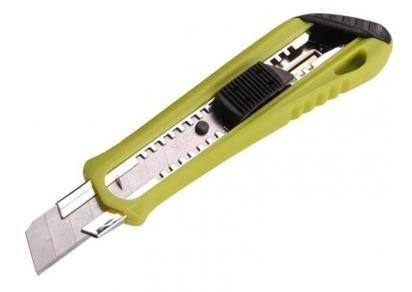 Nůž ulamovací s kovovou výstuhou 18mm - 80034