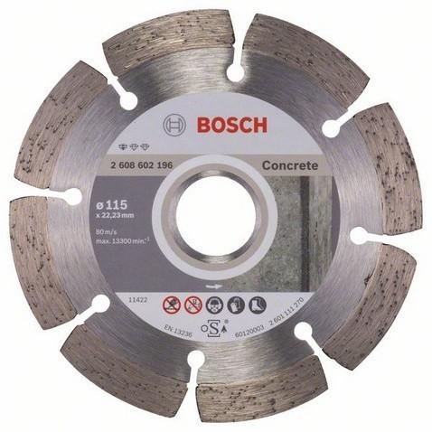 Diamantový dělicí kotouč 115mm BOSCH - 2 608 602 196