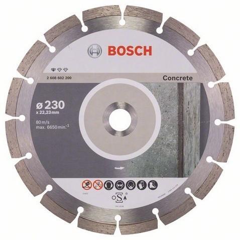 Diamantový dělicí kotouč 230mm BOSCH - 2 608 602 200