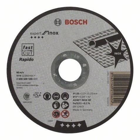 Řezný kotouč 125/1 Expert for Inox - 2 608 600 549 BOSCH