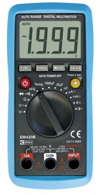Multimetr EM420B - M0420