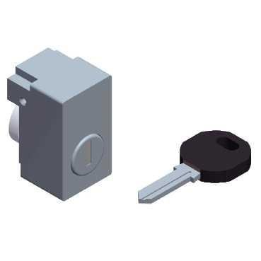 Zámek s klíčem EDF 1300 - NSYINF1301