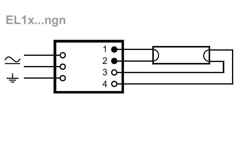 Elektronicky Predradnik El 1x58ngn Helvar 1x58w 2eshop