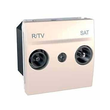 Unica - zásuvka R-TV/SAT - koncová 2mod.MARFIL MGU3.454.25