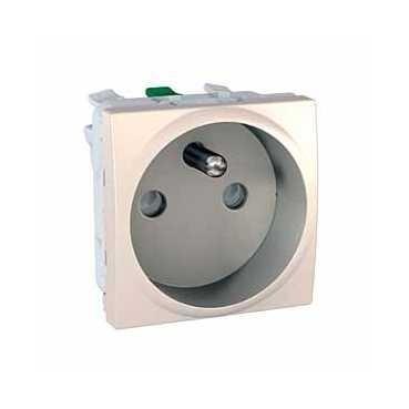 UNICA zásuvka 16A/230V - 2P+PE - MARFIL - MGU3.059.25